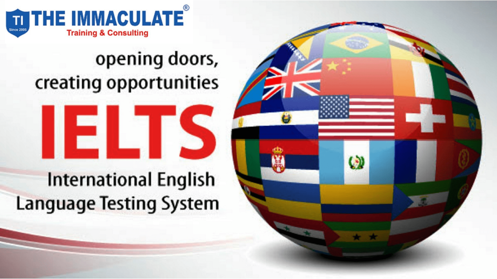 ielts at the immaculate